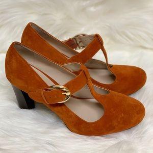 Franco Sarto Delilah orange size 9 NWOB